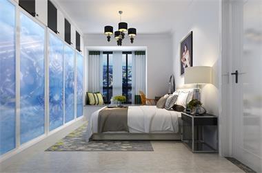 卧室效果图设计制作应遵循几个原则