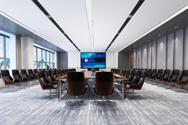 大会议室效果图设计