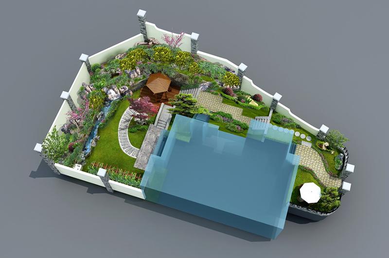 庭院景观图