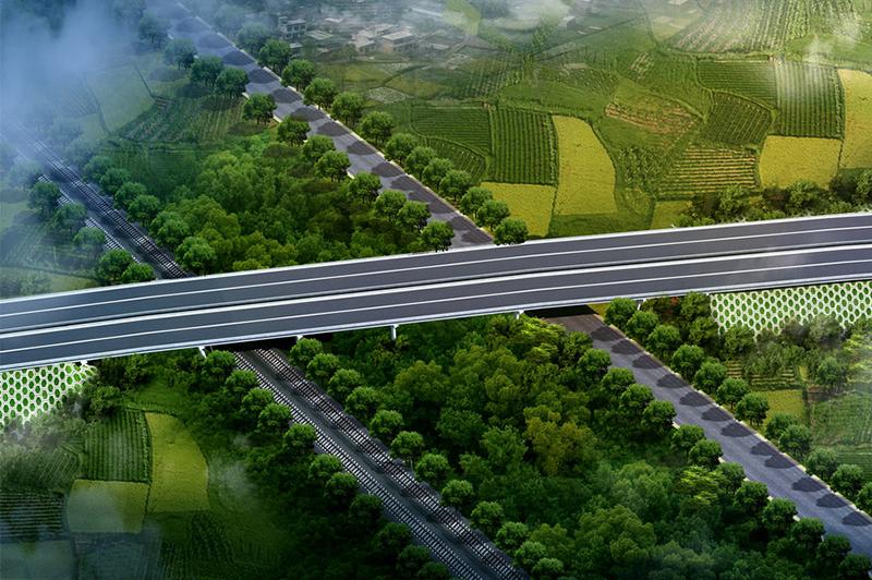 高速公路效果图