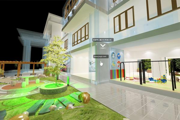 别墅模型全景