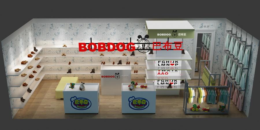 童鞋店效果图
