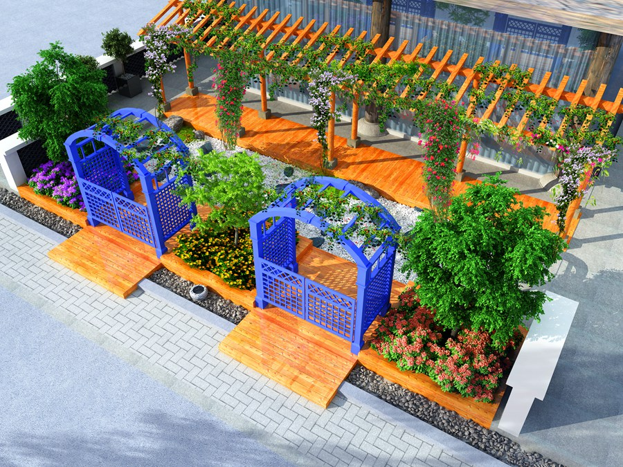小花园园林景观设计