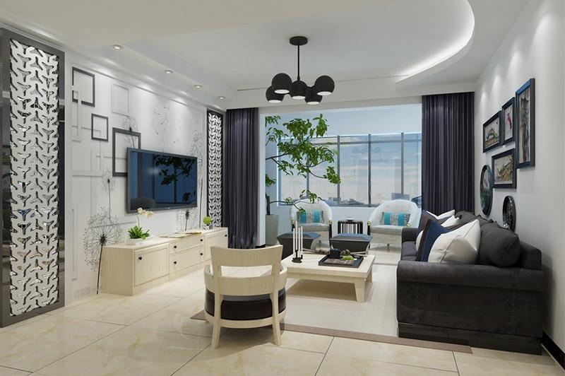 客厅效果图设计
