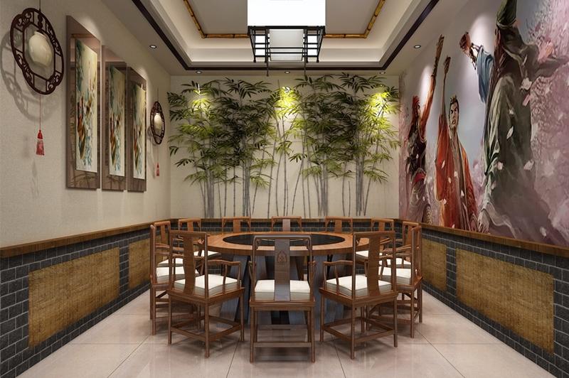 餐厅工装效果图设计