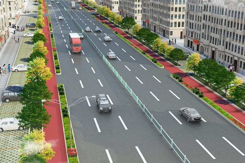 道路效果图设计