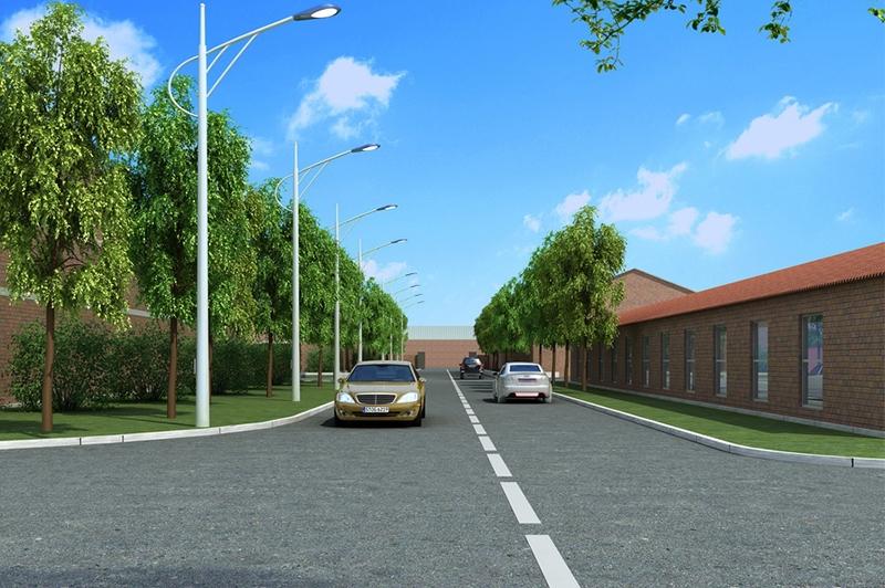 街道路灯效果设计