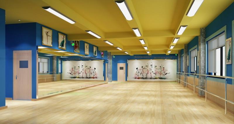 舞蹈教室效果图
