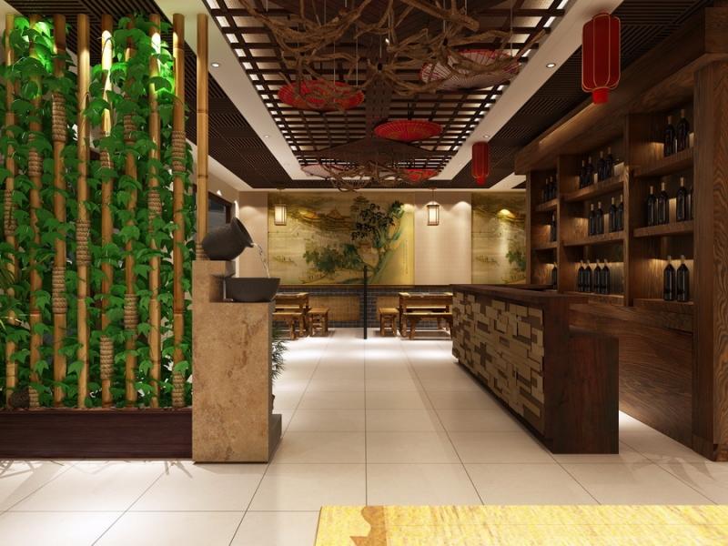 中餐厅效果图