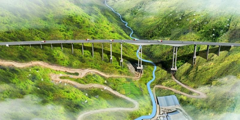 大桥效果图设计