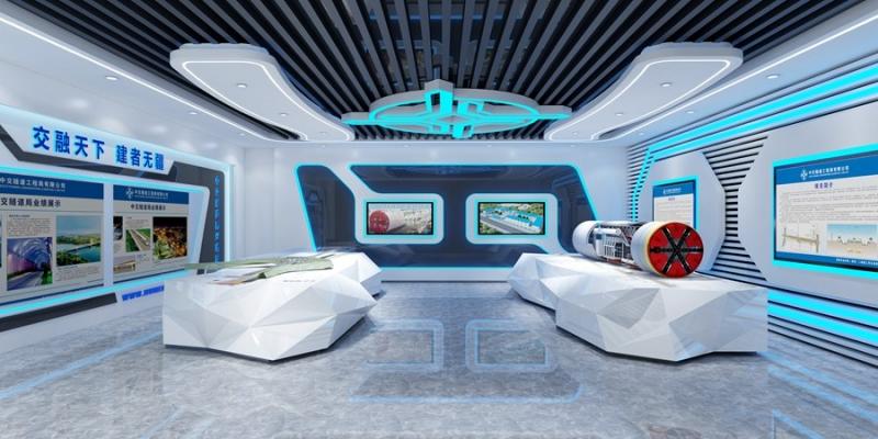 展厅3D效果图制作