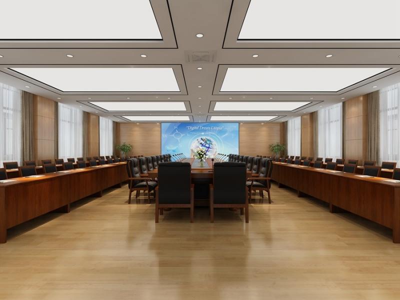 会议室效果图制作