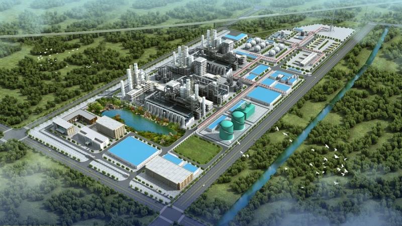 工业厂区鸟瞰图制作
